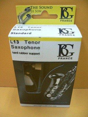 筌曜樂器(I4068)全新 BG L13 薩克斯風( Tenor) 皮質 吹口束圈+蓋子(L13) 超低價
