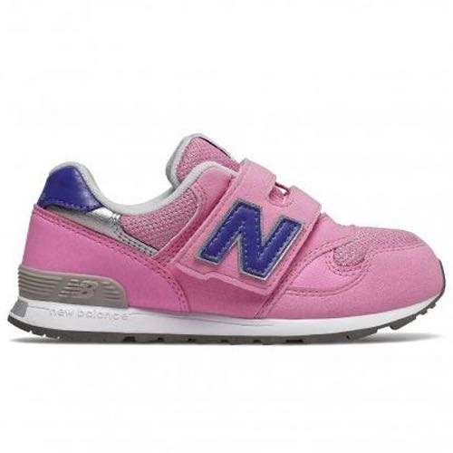 ➕S.P➕ 女 中童鞋 New Balance 313 寬楦 魔鬼氈 休閒 運動鞋 粉紅 PO313PK W
