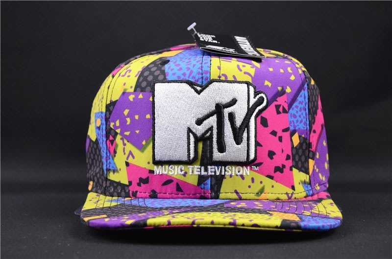 Cover Taiwan 官方直營 Starter MTV Snapback 棒球帽 復古 撞色 普普風 彩色 (預購)