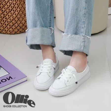『※妳好,可愛※』韓國童鞋 韓國Ollie 韓國女鞋 正韓 Ollie小白鞋  Ollie鬆緊休閒鞋 樂福鞋 懶人鞋