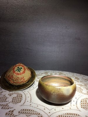 (店鋪不續租清倉大拍賣)簡銘炤先生,柴燒缽形碗#246#原價5000元特價2500元。