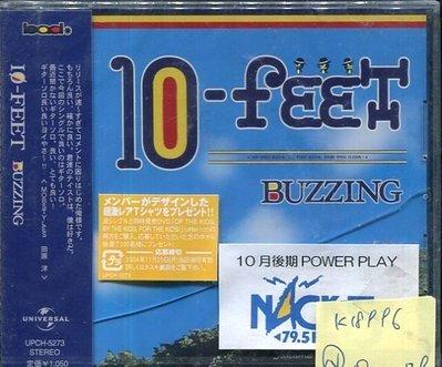 *真音樂* 10 FEET / BUZZING 日版 全新 K18896