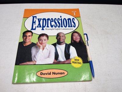 【考試院二手書】《Expressions Book 1》ISBN:0838422403 │(B11Z72)