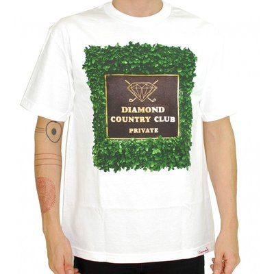 [WESTYLE] Diamond Supply Co private country club Tee 白 鑽石