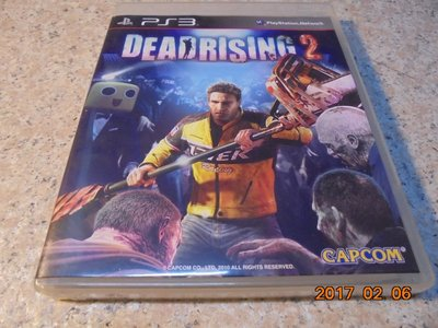 PS3 死亡復甦2 Dead Rising 2 英日合版 直購價500元 桃園《蝦米小鋪》