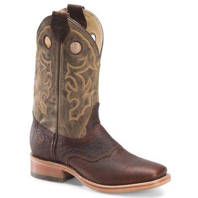 """【幫你買】男靴 Double-H Men's Alec 12"""" Domestic ICE Square Toe Roper Boots DH4634"""