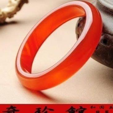 紅瑪瑙手鐲手圍17~19.5A貨-開運避邪投資增值[附保證書][奇珍館]62a12