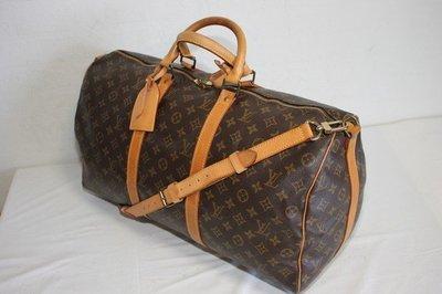 (m41416)m41426可參考小米二手精品LV字紋speedy50cm   路易威登 旅行袋手提行李袋b