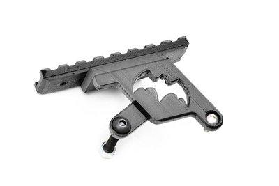 [01] 黑蝙蝠 HI-CAPA 側掛 鏡橋 ( 魚骨狙擊鏡座鏡軌夾具鏡夾倍鏡狙擊鏡瞄準鏡內紅點紅外線紅雷射快瞄導軌