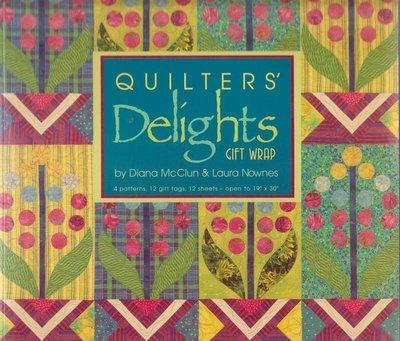 【傑美屋-縫紉之家】美國拼布書籍~QUILTERS Delights 包裝紙 #1145