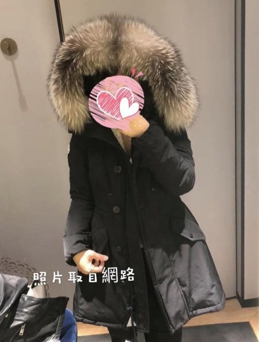 降價大賠售Moncler arriette 全新黑色厚羽絨狐狸毛帽外套 尺寸0號 專櫃真品