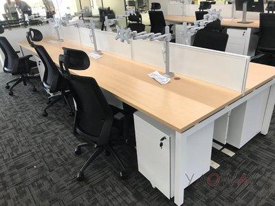 【耀偉】GAMMA系統工作站 (辦公桌/辦公屏風-規劃施工-拆組搬遷工程-組合隔間-水電網路)12