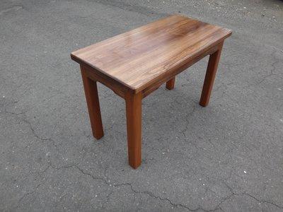 C018 {崙頂傳統原木家具行}~杉木實木小桌  買多張有優惠 椅子另計 接受訂做.訂色