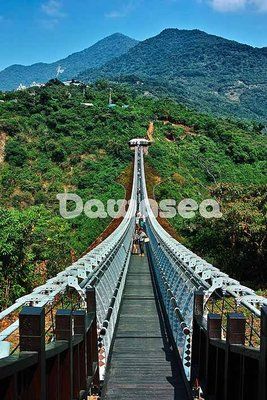 台灣圖庫.圖片.照片出租.屏東山川琉璃吊橋.專業攝影師拍攝.想租多少價格.你決定專案.