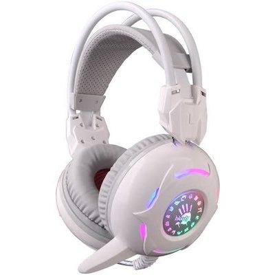 全新特價【Bloody】雙飛燕 G300 立體聲 雙用遊戲耳機-白色 台中市