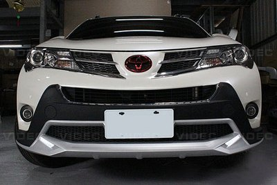 大台北汽車精品 HID 豐田 TOYOTA RAV4 北美 原廠款 前保桿 後保桿 大包 總成 空力套件 含 DRL