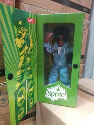 2004年 Sprite 出品 hip pop DJ Thirst figure 雪碧限量版公仔not for sale item (可樂公司品牌)