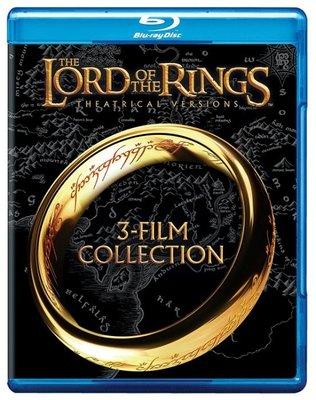 BD 全新美版【魔戒三部曲 三碟電影版】【Lord of the Rings Trilogy】Blu-ray 藍光
