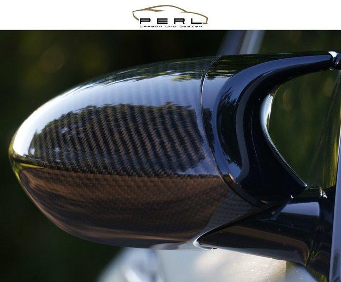【樂駒】Perl Carbon Design BMW E82 1M E90 E92 E93 M3 碳纖維 後視鏡蓋