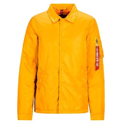 【GHK】ALPHA INDUSTRIES COACHES JACKET YELLOW 教練外套 厚鋪棉