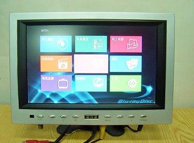 保固3個月【小劉二手家電】旅行者 9吋液晶螢幕,可多角度調整,可接DVD!