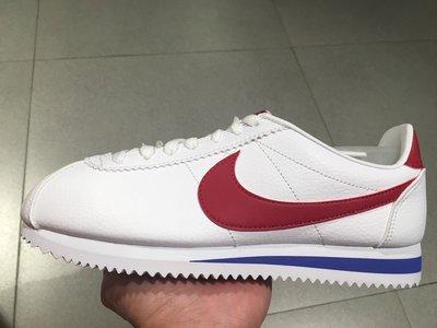 特價 NIKE CORTEZ LEATHER 皮革 阿甘鞋 阿甘正傳 紅白藍 749571-154 復古鞋