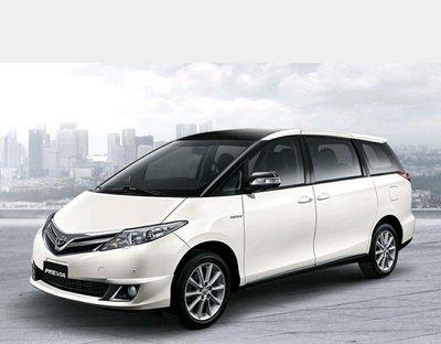 Toyota Previa 白光LED室內燈DIY套餐(安裝價400)
