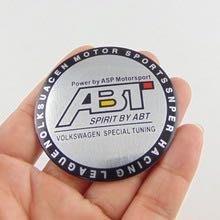 改裝 ABT 鋁圈 輪圈中心蓋貼紙 標誌 貼標65MM 福斯 vw golf polo lupo bora Audi
