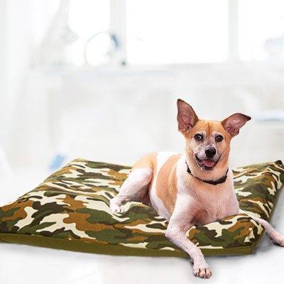 美兒小舖COSTCO好市多線上代購~KuddleKrew 毛得舒 防水寵物床墊/寵物床-迷彩(1入)