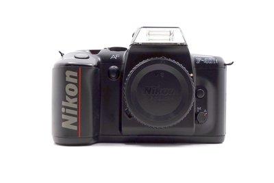 【台中青蘋果競標】Nikon F-401X 單機身 底片相機 無底價競標 標多少賣多少 料機出售 #24383