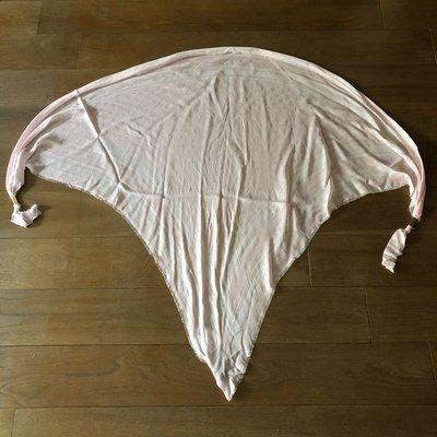 [熊熊之家3]保證全新正品 Gucci  粉紅色 三角型  多用途  披肩  圍巾 領巾
