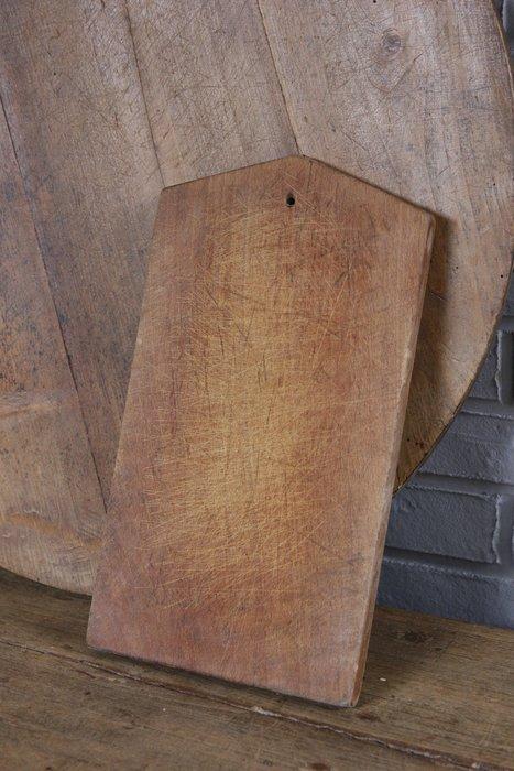 法國木製老砧板 歐洲古董老件(03_Ton-40-5)【小學樘_歐洲老家具】