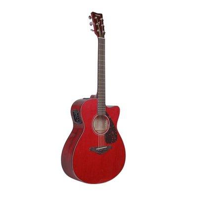 #吉他正品YAMAHA雅馬哈FG800單板民謠電箱木吉他初學者學生男女41/40寸#樂器