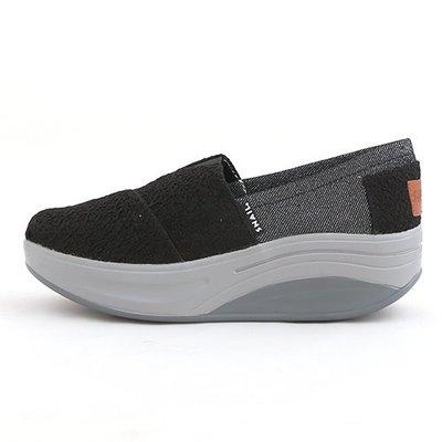 女款 SNAIL 輕量舒適厚底休閒懶人鞋 健走鞋 厚底鞋 上班鞋 Ovan