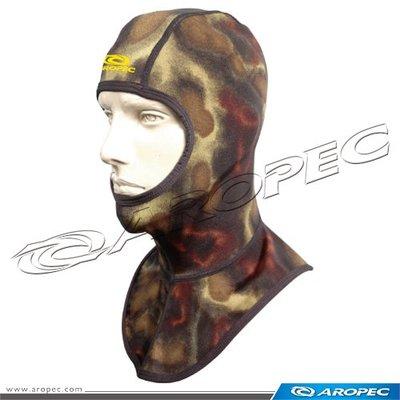 Aropec-HD-23-LMWG-迷彩萊卡Lycra防曬潛水頭套