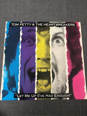 Tom Petty & The Heartbreakers* – Let Me Up  1987 美版