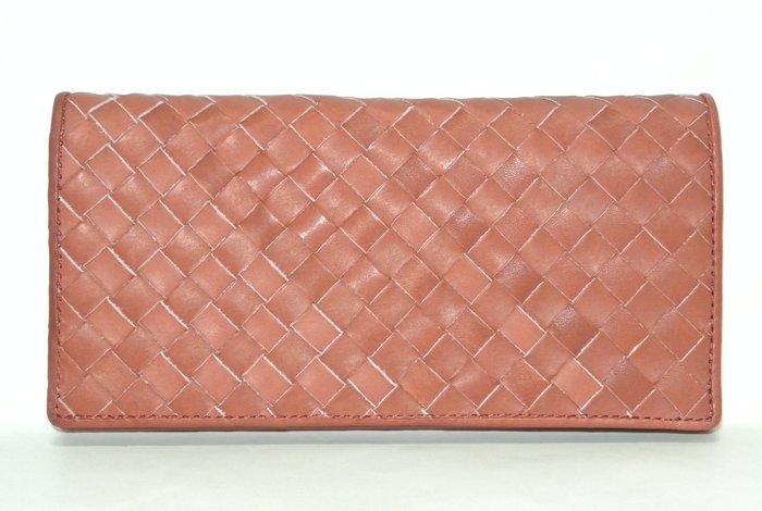 貳拾肆棒球時尚-日本帶回限定訂製品Mizuno手套皮革編織造型長皮夾/長19公分