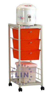 【品特優家具倉儲】P342-11電器架米架隙縫櫃A-3303優惠價