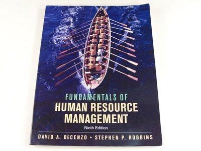 【懶得出門二手書】《FUNDAMENTALS OF HUMAN RESOURCE MANAGEMENT》│John Wiley&Sons出版│八成新