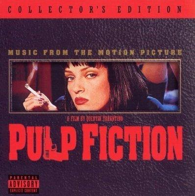正版CD電影原聲帶《黑色追緝令》典藏版/ Pulp Fiction 全新未拆