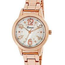 日本正版 J-AXIS 女用 手錶 腕錶 女錶 BL1002-PG 日本代購