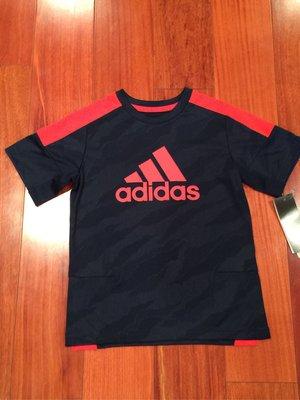 Adidas 男童短T 尺寸5. 6 歲