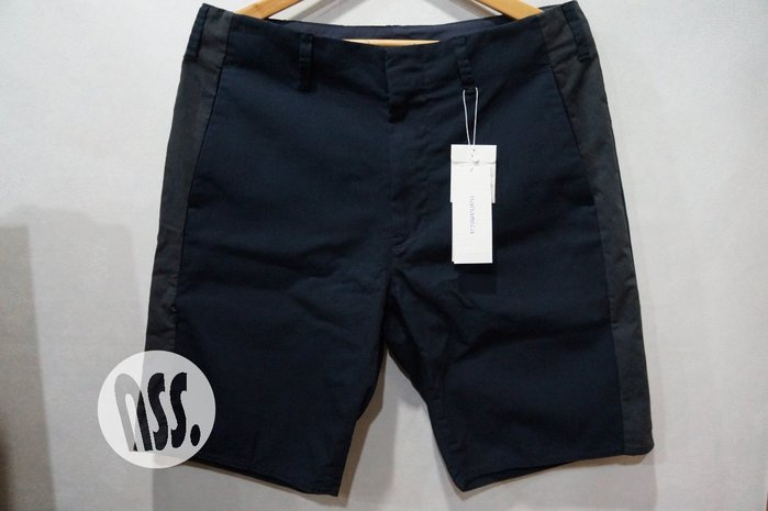 「NSS』nanamica Crew Shorts 短褲 藍 32