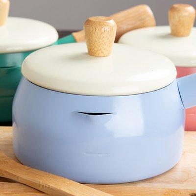 牛奶鍋  湯鍋 MILK POT 木柄牛奶鍋 SGS認證 台灣製造【G053】