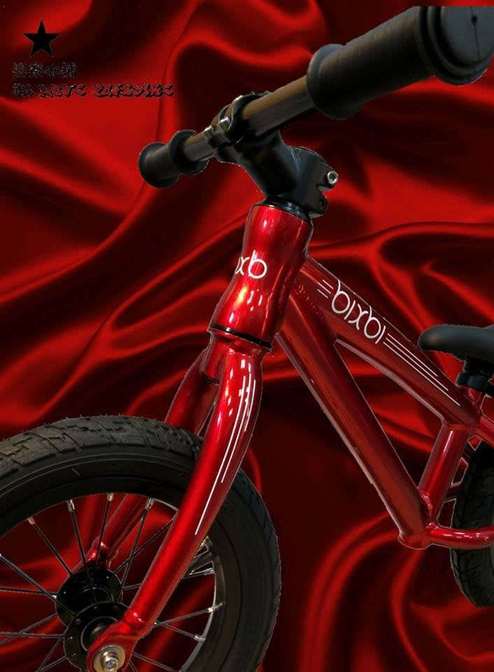 ♞嬰 樂♘加拿大 Bixbi 限量紅 滑步車 平衡車 pushbike