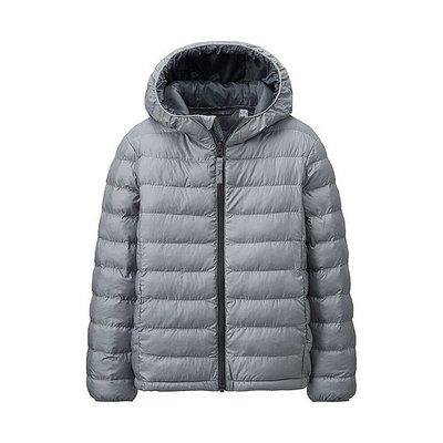 (各色各尺寸127705)全新日本優衣庫UNIQLO公司貨 兒童鋪棉連帽外套 極輕柔 舖棉連帽外套,羽絨外套參男童