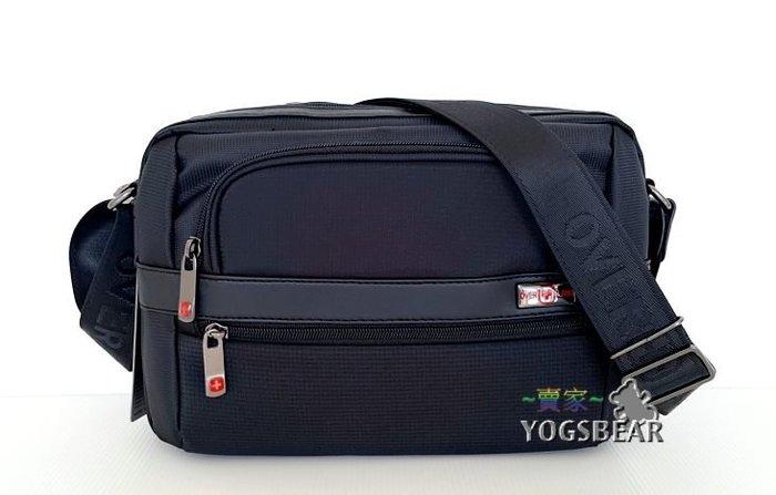 【YOGSBEAR】 USB 充電包 OVERLAND 十字軍 OVER+LAND 側背包 斜背包 公事包 中 5531