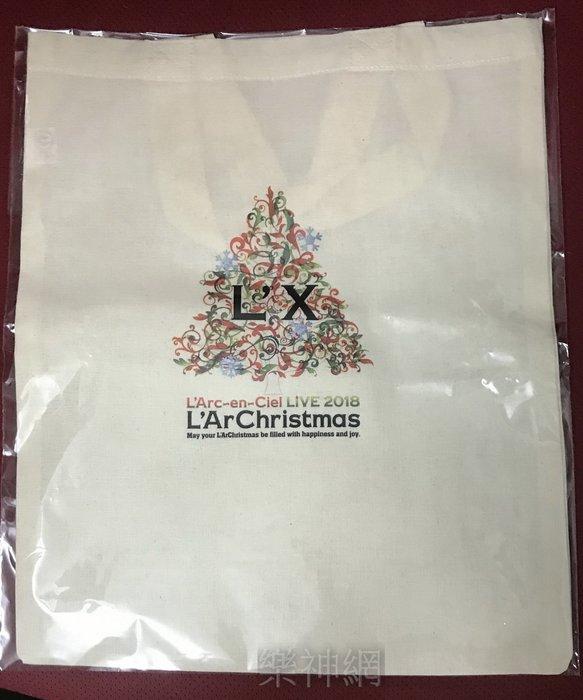 彩虹樂團L'Arc~en~Ciel Live 2018 L'ArChristmas【日版特典托特包 Tote Bag】
