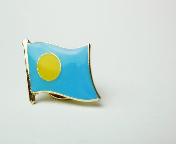 【國旗徽章達人】帛琉國旗徽章/勳章/胸章/別針/胸針/Palau/超過50國可選