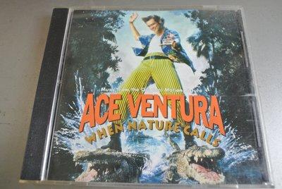 CD ~ ACE VENTURA KHEN NATURE CALLS ~1995 MCA  MCD-11374